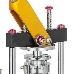 58mm (2,28 '') Bouton Badge Maker Machine De Presse 200pcs Métal Slid Tourner La Poignée