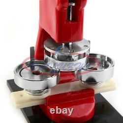 58mm 2.28 Bouton Maker Machine Badge Punch Appuyez Sur 100 Pièces Cutter De Cercle Outil