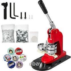 58mm 2.28 Button Maker Badge Punch Press Machine 500pcs Parts Circle Cutter États-unis