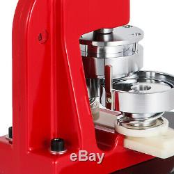58mm (2.3) Bouton Badge Presse Maker 500 Pièces 200-300pcs Machine À / H Kit Faire