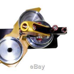 58mm Bouton Maker Badge Punch Machine De Presse Cercle Outil De Coupe USA Ship