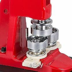 58mm Bouton Manuel Machine Maker Pour Faire 1000 Bouton Pièces Badges Facile À Utiliser
