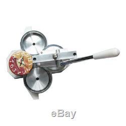 6-1 / 5 (158mm) Machine De Fabricant De Badges À Goupilles Ronde Pour Fournitures De Boutons De Retour À Broche