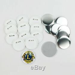 75mm 200pcs (3) Fournitures Vierges Bouton Pin Badge Pour Badge Bricolage Maker Machine