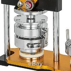 75mm 3 '' Badge Button Machine Maker + 100 Boutons Cercle Badge Poinçon Presse