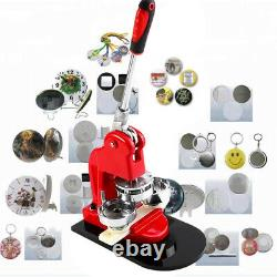 75mm 3 Bouton Maker Badge Press 100 Pcs Circle Cutter Machine De Fabrication Manuelle