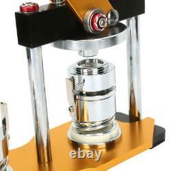 Alliage En Aluminium 1''/25mm Rotate Button Machine Manual Badge Maker Avec 100 Boutons