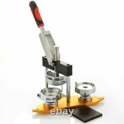 Aluminium Alloy Type Rotation Badge Punch Press Machine Bouton Pin Maker, Moule