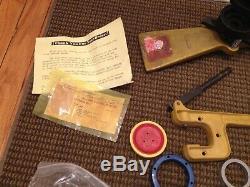 Badge A Matic Bouton Maker 3 Badge Presse Lot Pièces Extras Accessoires Etc