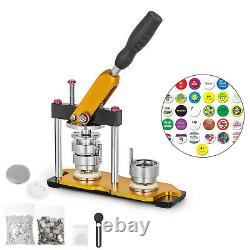 Badge Button Maker Rotate 1.25'' 32mm+ 100 Buttons Us Circle Badge Punch Press
