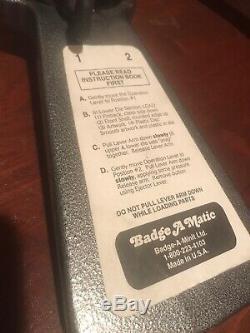 Badge Complète A Matic Minute 2 1/4 Bouton Maker