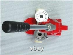 Badge Machine Bouton Pin Maker, Badge Maker Machine 58mm Badge Printer Red New Og