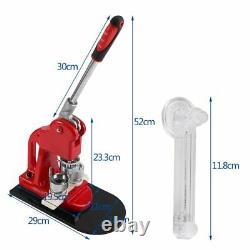 Badge Maker Machine 1set 25 MM Button Maker Badge Punch Press Machine Avec 1000