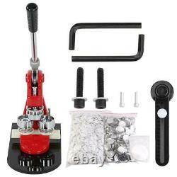 Badge Maker Machine Bouton Pin Kit Presse Cutter 1000 Circle Vente 25mm 32mm 58mm