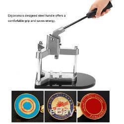 Badge Maker Machine Faire Bouton Pin Appuyez Sur Le Bouton Poussoir Emblème Machine