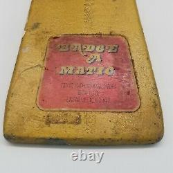Badge Vintage A Matic 1 Main Appuyez Sur Heavy Duty 2 1/4 Button Badge Maker