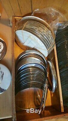 Badge Vintage A Matic I Par Badge-badge Maker Badge-a-minit 3 3/8 + Tonnes Plus