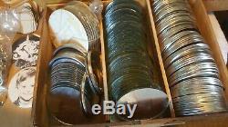 Badge Vintage A Matic I Par Bouton Badge-a-minit Badge Maker 3 3/8 + Tonnes Plus