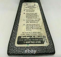 Badge-a-matic 1 Button Maker Machine 2-1/4 Pouces 2.25 Badge-a-minit Presse Manuelle