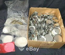 Badge-a-matic I Machine Insigne-a-minit 2-1 / 4 Button Maker W Lots Of Xtras De Nice
