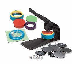 Badge-a-minit 2 1/4 Bouton Maker Bench Press System # 1501