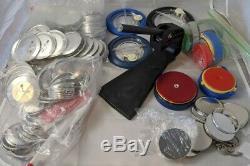 Badge-a-minit Bouton Maker Appuyez Sur L'outil 2-1 / 4 Et 3 Boutons Avec Cutters & Extras