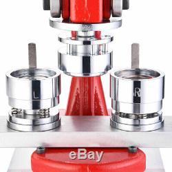 Bouton 32mm Pin Maker Machine Badge Bricolage Métal 1 1/4 Poinçonneuse Avec 1000 Pièces