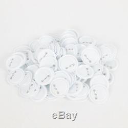 Bouton 58mm Pin Maker Badge Machine Marque + 100 Pcs Matériaux Blanc 100% Nouveau