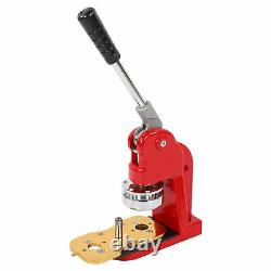 Bouton Machine Fabricant Bricolage 58mm Ronde Broche Fabricant Badge Presse Machine Avec 500 Boutons