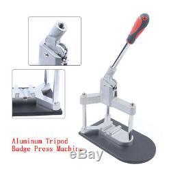 Bouton Machine Maker Badge Poinçonneuse Pin Makingtool Tinplate Badges Mirrorfast