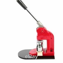 Bouton Mophorn Maker 1 Pouces Bouton Maker Bouton Machine 25mm Badge Maker Aluminu