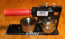 Bouton Tecre Occasion Maker Faire Badge Machine Modèle 225