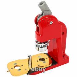 Boutonnerie Machine Bricolage Rond Épingle 32mm Kit De Presse Insigne Avec 1000 Pièces De Bouton