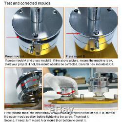 Bricolage Badge Poinçonnage Meurent Moule De Moule Rond Interchangeable Pour Bouton Maker Machine