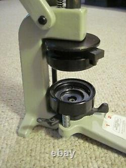 Button Maker Badge A Matic Machine Badge A Minit 2-1/4 Heavy Duty Press Only