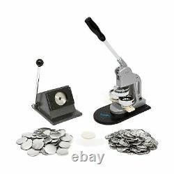 Button Maker Badge Making Machine 58mm (21/4 Pouces) Heavy Duty Circle Cutter P