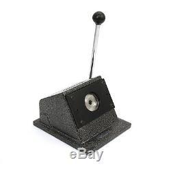 Buttonmaschine Badgemaker Buttonpresse Buttonrohlinge Boutons 58mm Mit Schneider