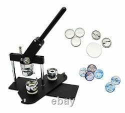 Chibuttons 37mm (1 1/2) Button Maker Kit-badge Press Machine-b400 + 37mm Round