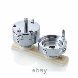 Dawei Badge Punching Die Round Button Mold Avec Abs Diapositive Badge Maker Part Co