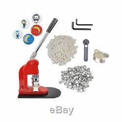 Eyerayo Button Maker Machine 37mm 1 ½ Pouces Badge Maker Pins Poinçonneuse Machin