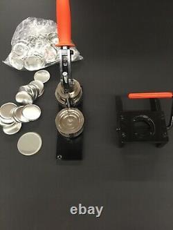 Fabricant De Boutons Tecre 2.25 2 1/4 Et Aimants Graphiques D'épingle D'insigne De Poinçon Plus 50 Pièces