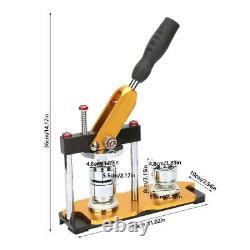 Fabrication Manuelle De Boutons Boutons Machine Rotate Part Maker Avec100 Boutons