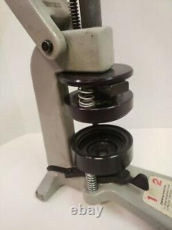 Insigne A Matic 1 Bouton Machine 2-1/4 Pouce 2,25 Par Insigne-a-minit Véritable