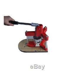 Insigne De Bouton 2-1 / 4inch Faisant Le Fabricant Manuel Rond D'insigne De Diy De Machine Avec Le Moule
