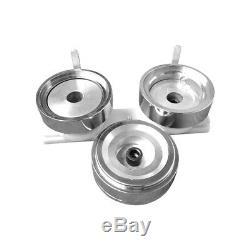Insigne De Bouton USA Stock 2-1 / 4inch / 58mm Faisant La Machine Fabricant Rond D'insigne De Diy