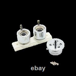 Kit 25mm (1) Bouton D'insigne Maker-1+round Mould+500 Pin Parts+circle Cutter