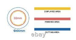 Kit 32mm (1.25) Bouton De Badge Maker-1+round Mould+200 Pin Parts+handlingcutter