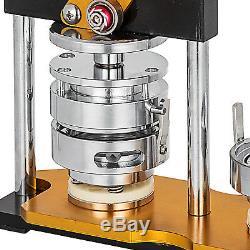 La Broche En Métal De Machine De Presse De Fabricant D'insigne De Bouton De 58mm (2.3 '') Fait Pivoter Des Chaînes Principales De Poignée