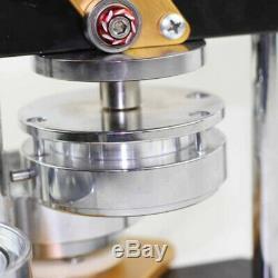 La Machine Portative De Presse De Poinçon De Fabricant De Bouton De L'utilisation 58mm Des Etats-unis Meurent Des Pièces D'insigne De Goupille De Moule
