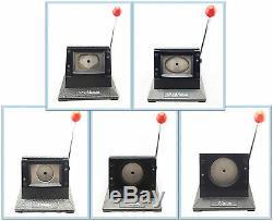 Le Support De Bureau De Perforation De Papier Graphique Meurent Coupeur Pour L'insigne De Pin De Fabricant De Bouton
